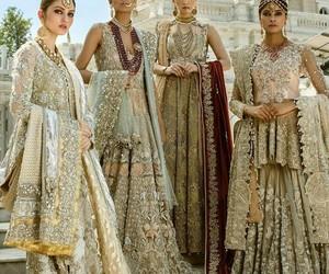 dress, fashion, and indian image