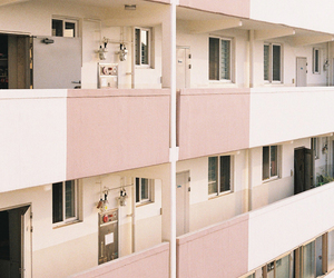 pink, apartment, and aesthetic image