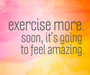 exercise, motivation, and fitness image