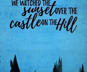 ed sheeran, Lyrics, and castle on the hill image