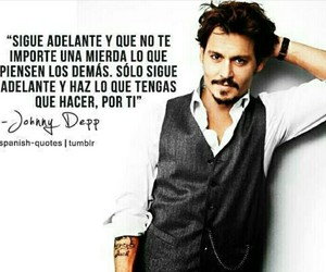 johnny depp, frases, and johnny deep image