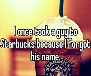 comedy, funny, and starbucks image