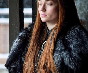game of thrones, sansa stark, and sophie turner image