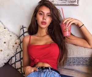 girl, hair, and sahar luna image