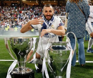 real madrid, benzema, and ucl image