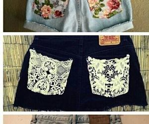 shorts, diy, and summer image