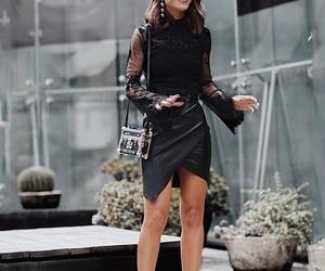 fashion, girl, and mode image