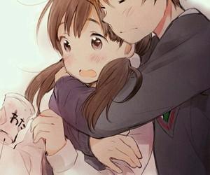 adorable, anime, and kiss image