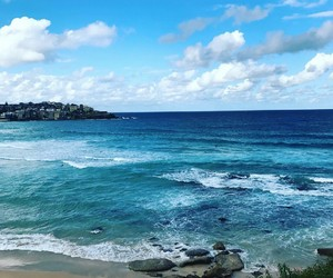 australia, beach, and bondi image