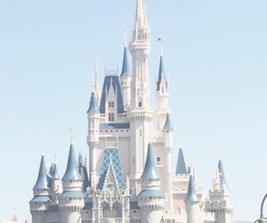 blue, disney, and castle image