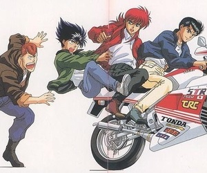 anime, manga, and yu yu hakusho image