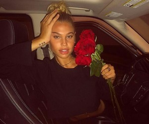 black, fitness, and roses image
