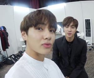 boy, jin, and kpop image