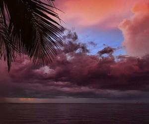 sky, paradise, and nature image