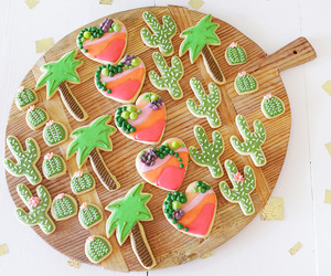 blogger, cactus, and Cookies image