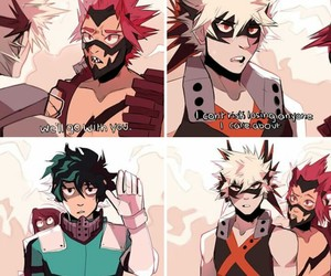boys, boku no hero academia, and my hero academia image