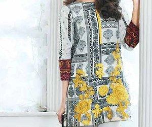 dresses, pakistani, and pakistani fashion image