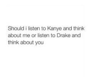 caption, Drake, and girl image