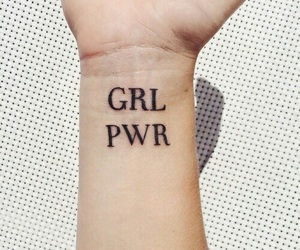 tattoo, feminism, and girl power image