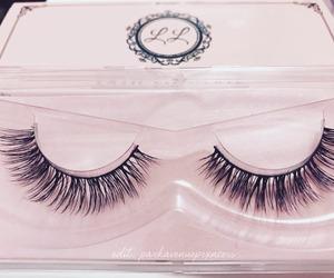 eyelashes, fashion, and girly image