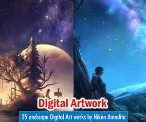 art, creative art, and digital art image