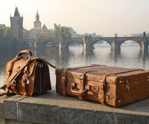 travel, bag, and prague image