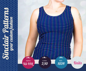 sewing tutorial, beginners pattern, and modern sewing image