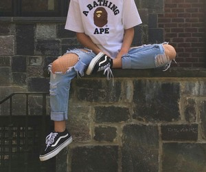 vans, style, and outfit image