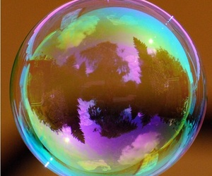 bubble, colorful, and colors image