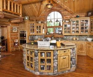 kitchen and wood image