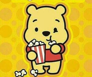 popcorn, disney, and pooh image