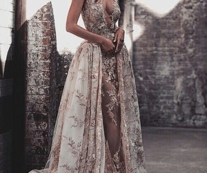 dress, fashion, and gown image