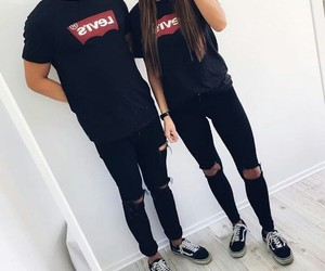 levis, couple, and goals image