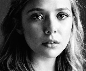 elizabeth olsen, blonde, and actress image