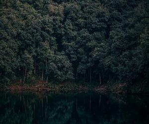 art, lake, and photo image