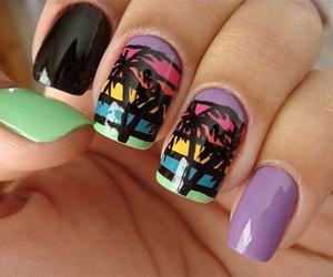 summer nails, summer nail art, and summer nails designs image
