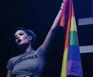 halsey, lgbt, and gay image