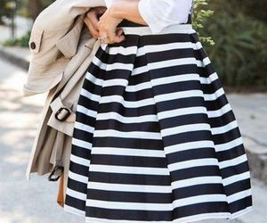 black, black&white, and outfit image