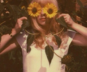vintage, sunflower, and aesthetic image