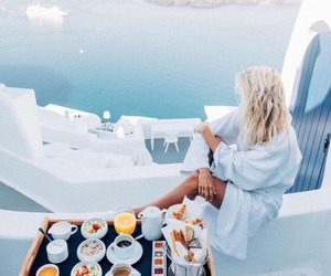 food, travel, and Greece image
