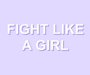 girl, quotes, and fight image