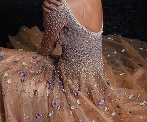beauty, prom dress, and woow image