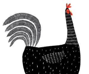 beauty, design, and hen image