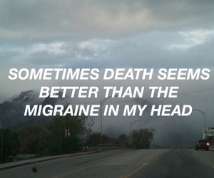 Lyrics, migraine, and twenty one pilots image