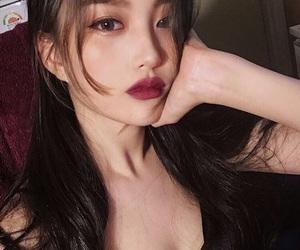 makeup and ulzzang girl image