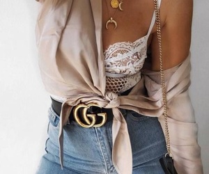 accessories, boho, and bralette image