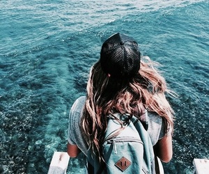 summer, blue, and turquoise image