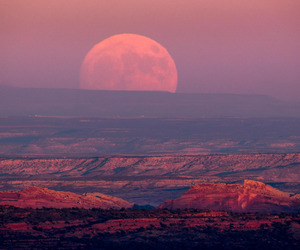 full moon and big moon image