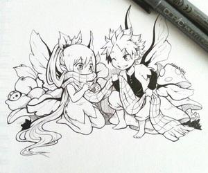 nalu, fairy, and fairy tail image