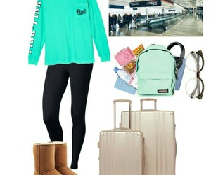 airport, Polyvore, and ugg image